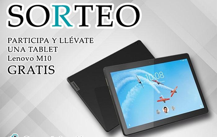 ¿Quieres ganar una tablet Lenovo 10 1?